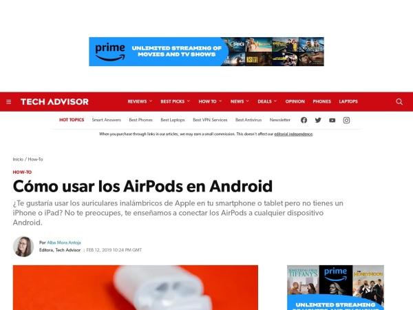 Captura de pantalla de www.pcworld.es