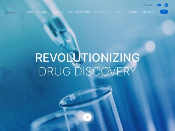 Screenshot of www.peptidream.com
