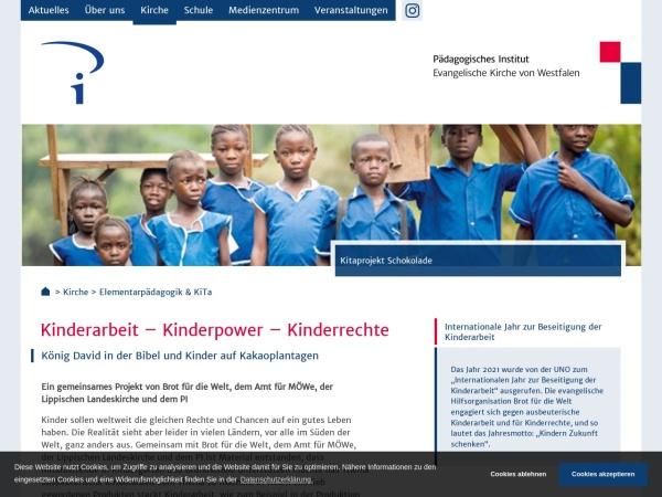 Screenshot von www.pi-villigst.de