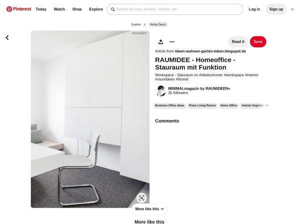 Screenshot von www.pinterest.de