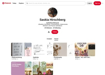 Screenshot of www.pinterest.de
