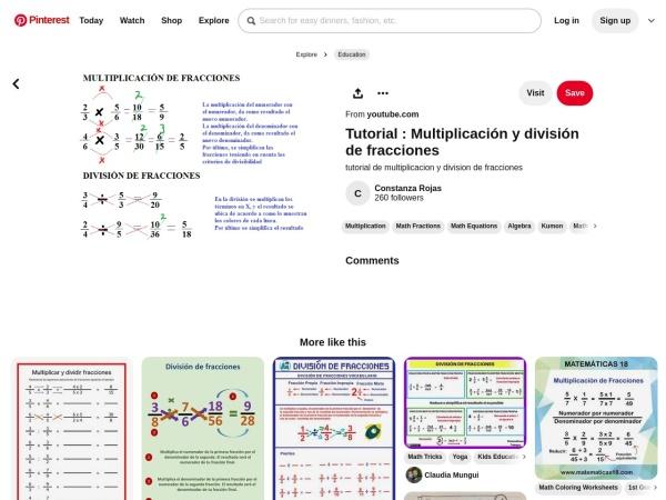 Captura de pantalla de www.pinterest.es