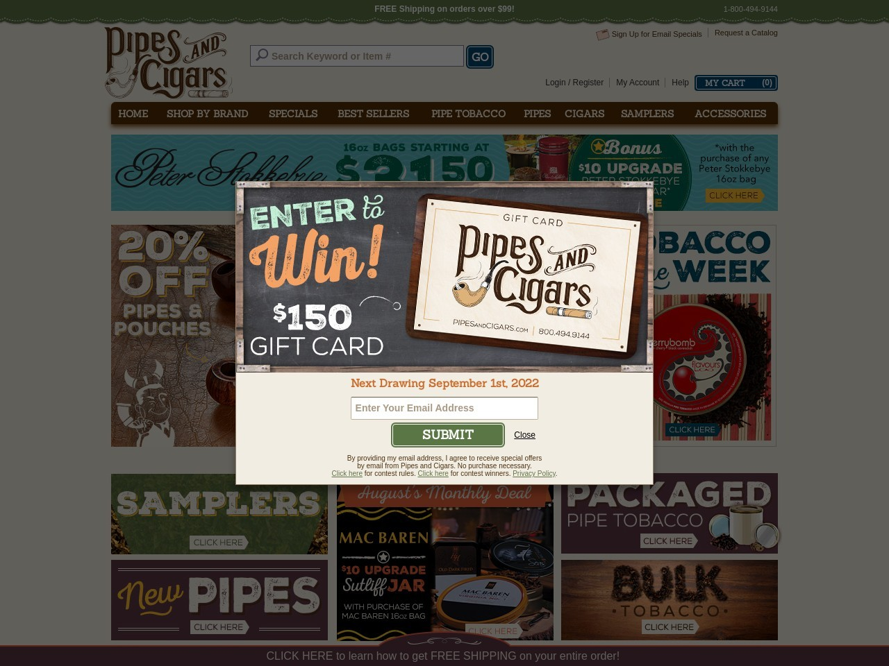 https://www.pipesandcigars.com/sweepstakes/