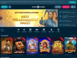 Platin Casino Vorschau