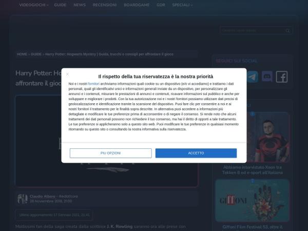 Screenshot of www.player.it