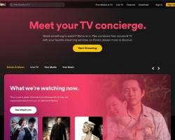 Screenshot of www.plex.tv