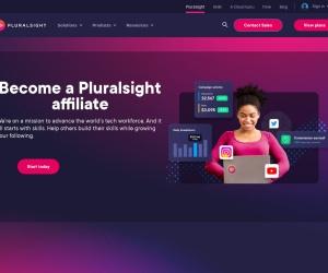 Screenshot of www.pluralsight.com