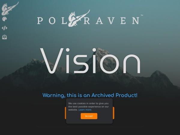 Screenshot of www.polyraven.com