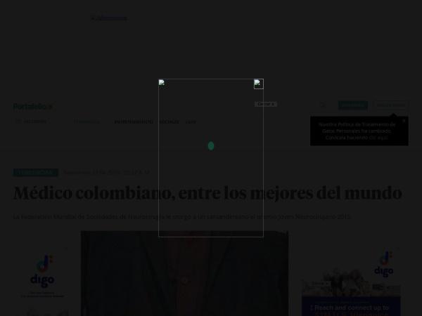 Captura de pantalla de www.portafolio.co