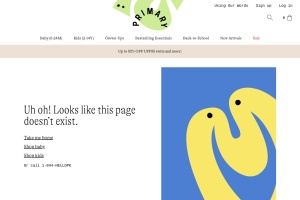 Screenshot of www.primary.com