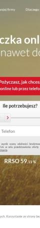 Screenshot of www.proficredit.pl