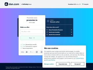 Screenshot of www.promoter.io