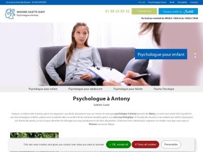 Juliette GUIOT, psychologue enfant, adolescent et adulte dans la ville d'Antony