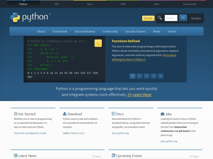 https://www.python.org/