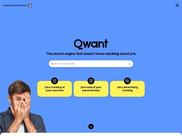Suchmaschine Qwant.com