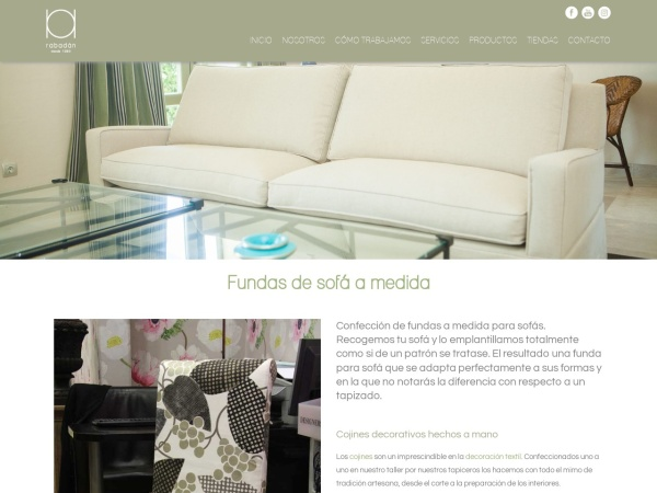 Captura de pantalla de www.rabadan.info