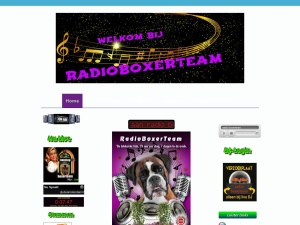 Screenshot of www.radioboxerteam.nl