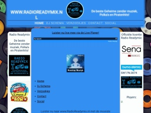 Screenshot of www.radioreadymix.nl