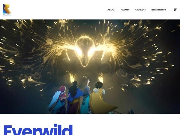 Screenshot of www.rare.co.uk
