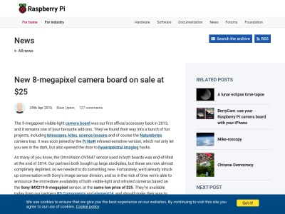 https://www.raspberrypi.org/blog/new-8-megapixel-camera-board-sale-25/