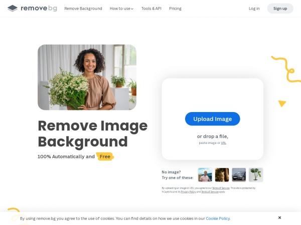 Screenshot of www.remove.bg
