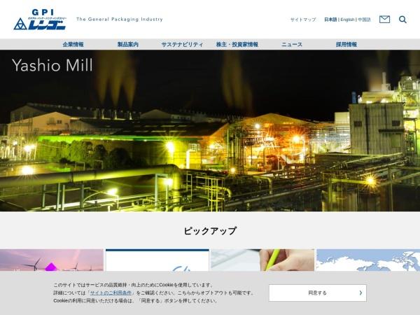 Screenshot of www.rengo.co.jp