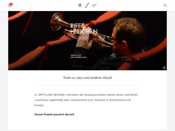 Screenshot von www.riffreporter.de