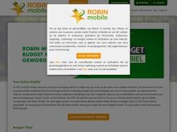 Robin Mobile: Alles onbeperkt sms/min/MB vanaf €19,95 p/mnd