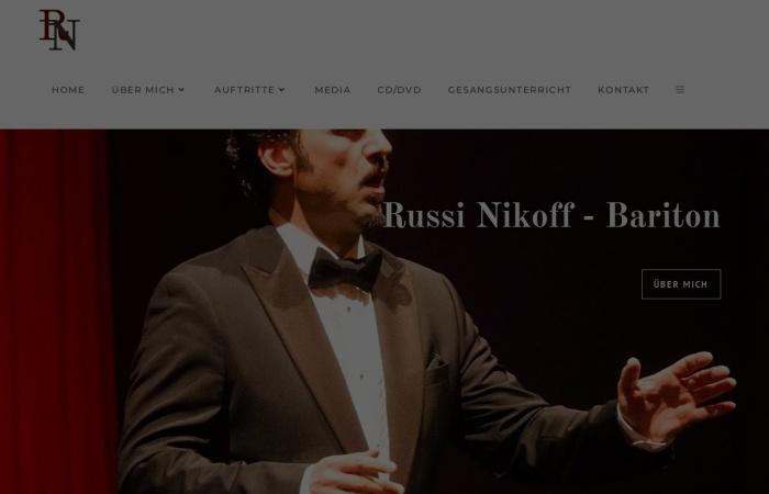 Screenshot of www.russi-nikoff.com