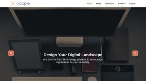 Screenshot of www.samajinfotech.com