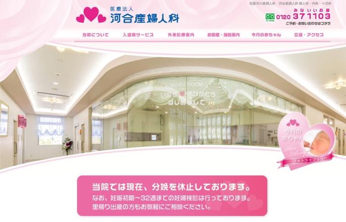 Screenshot of www.san-kawai.jp