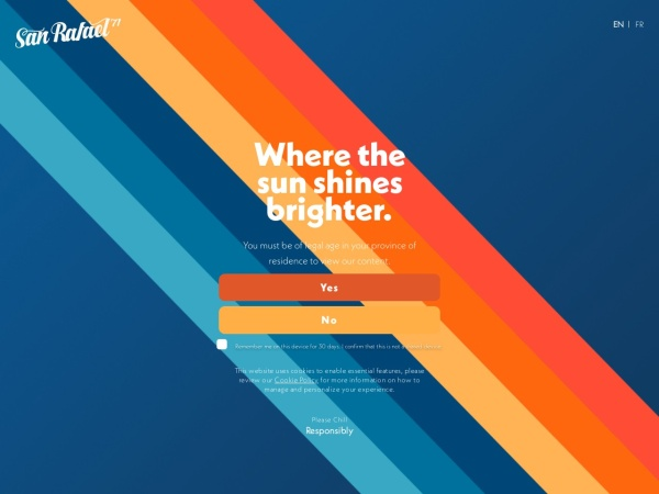Screenshot of www.sanrafael71.com