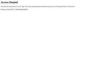 Gestión de recursos humanos centrales   SAP