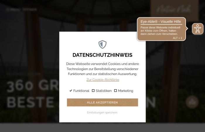 Screenshot von www.schoenbuch-heckengaeu.de