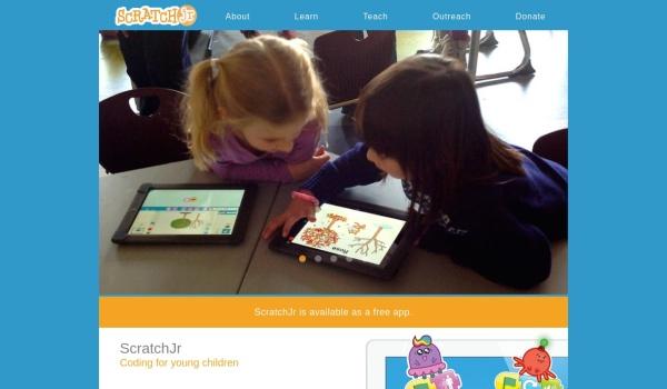 Screenshot of www.scratchjr.org