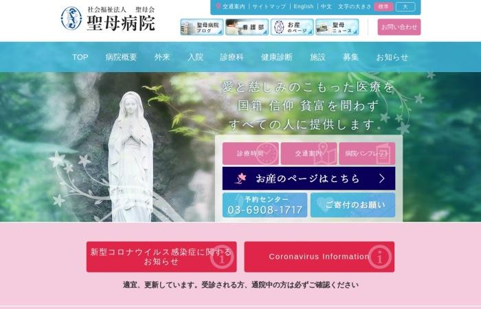 Screenshot of www.seibokai.or.jp