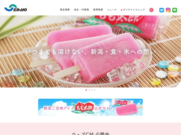 Screenshot of www.seihyo.co.jp