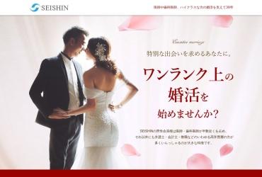 Screenshot of www.seishin.com