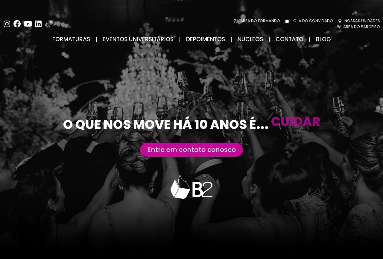 Screenshot of www.sejab2.com.br