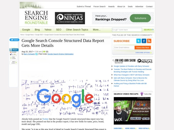 https://www.seroundtable.com/google-structured-data-report-gets-detail-24304.html