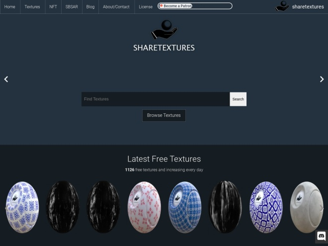 https://www.sharetextures.com/