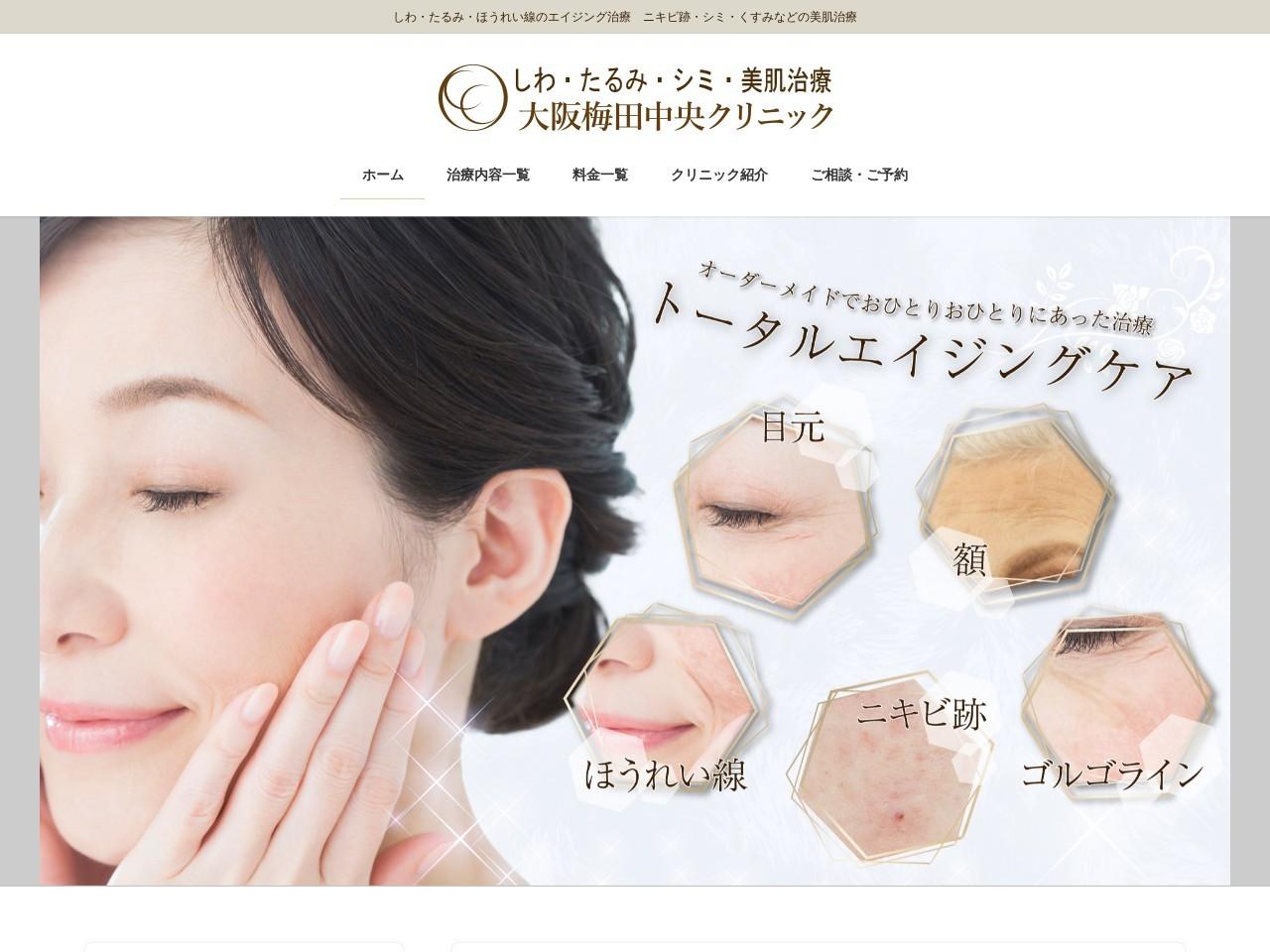 Screenshot of www.shinosaka-chuoh.com