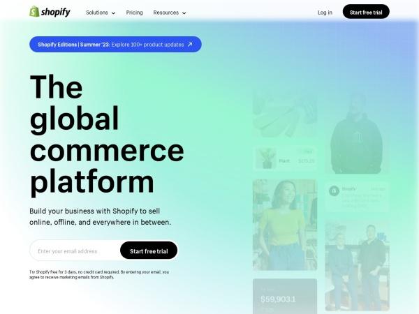 """""""Shopify.com"""""""