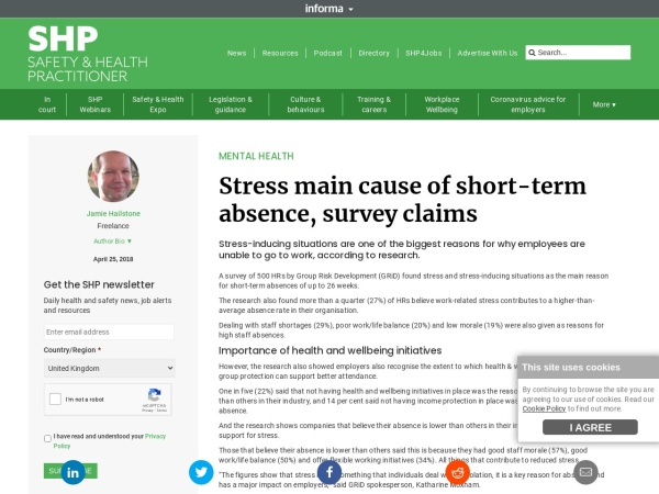 Stress and Absenteeism