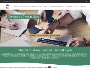 Avec maître Kristina Slavova à Lyon, gérez vos affaires aux mieux à Lyon et à l'international!