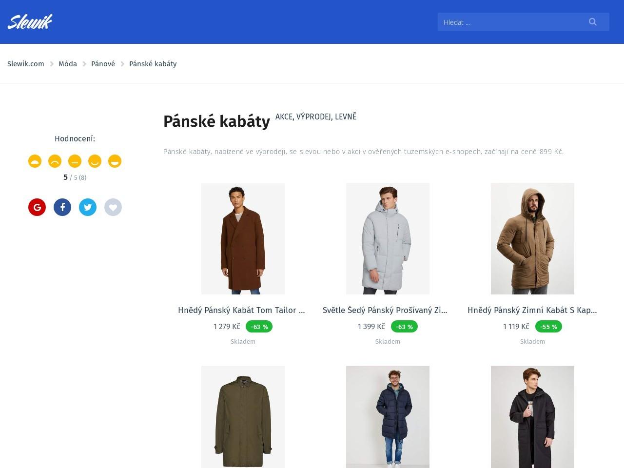 Pánské kabáty (Zdroj: Wordpress.com)