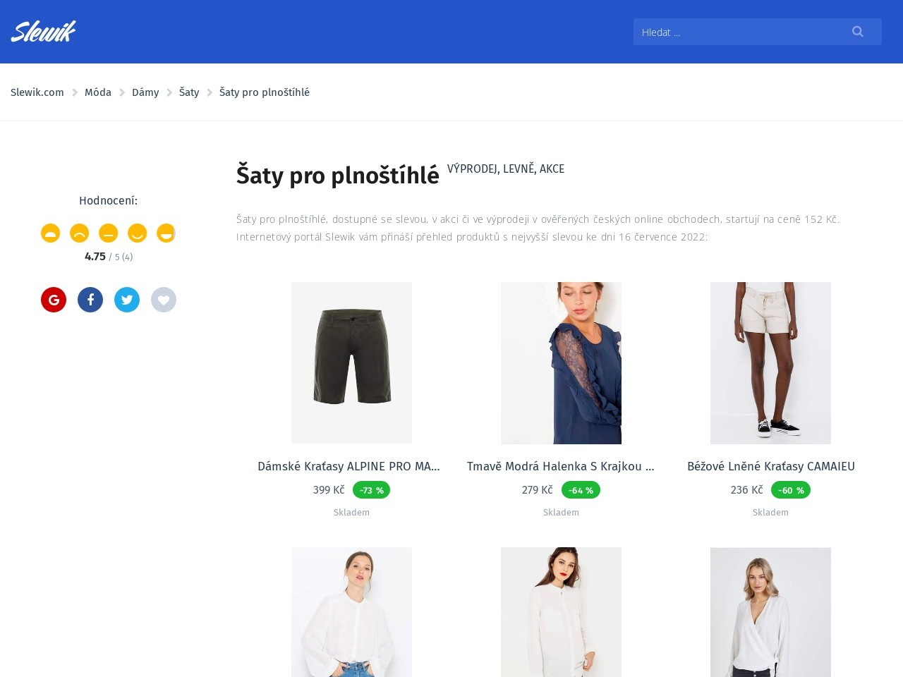 Šaty pro plnoštíhlé (Zdroj: Wordpress.com)
