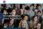 Screenshot of www.socialtech.org.uk