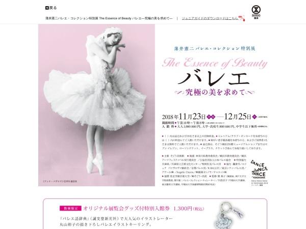 Screenshot of www.sogo-seibu.jp