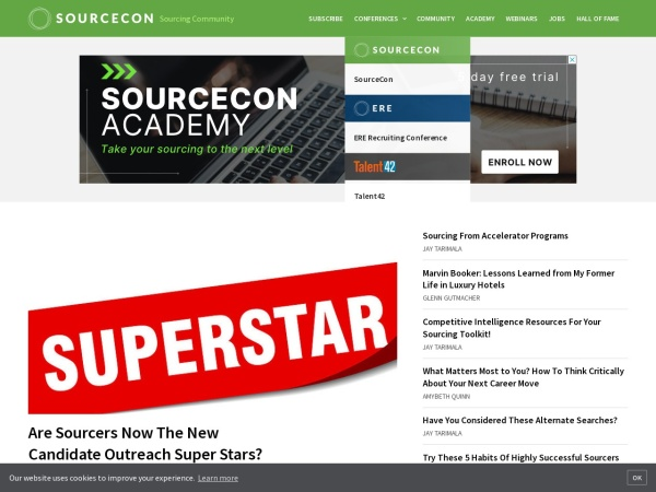 SourceCon - Sourcing Knowledge Screenshot